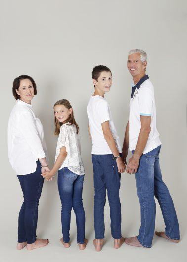 Familienshooting 4 Personen